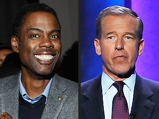 Oh Yes He Did! Chris Rock Takes a Jab at Brian Williams at a Charity Event