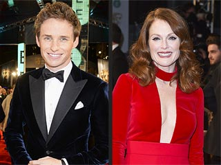 Eddie Redmayne and Julianne Moore Take Home Top Honors at the BAFTAs