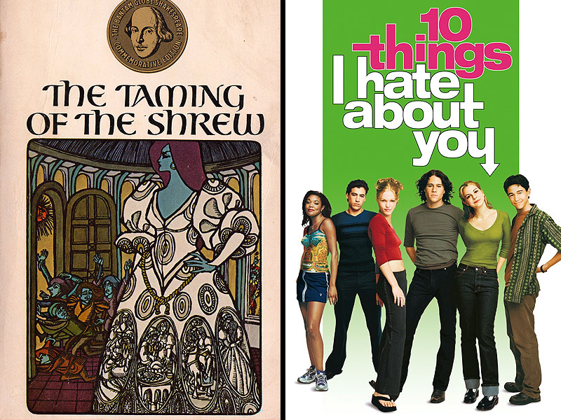10 Things I Hate About You Shakespeare: 'Fifty Shades Of Grey' Fan Fiction: 9 Examples Of Fanworks