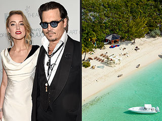Johnny Depp and Amber Heard Wed on His Private Island! | Amber Heard, Johnny Depp
