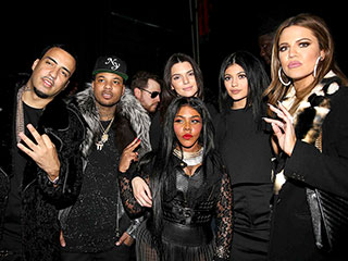 Khloé Kardashian and French Montana's Pre-Valentine's Date Night | Kendall Jenner, Khloe Kardashian, Kylie Jenner, Lil' Kim