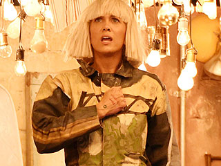 All About Kristen Wiig's Top-Secret 'Chandelier' Performance at the Grammys