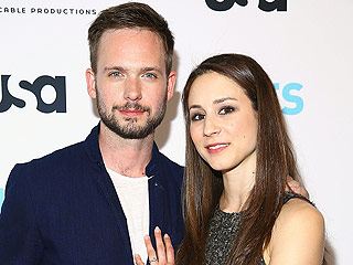 Patrick J. Adams Says His and Troian Bellisario's Wedding Date Will be Kept a Secret: 'That's Kind of Our Game Plan' | Patrick J. Adams