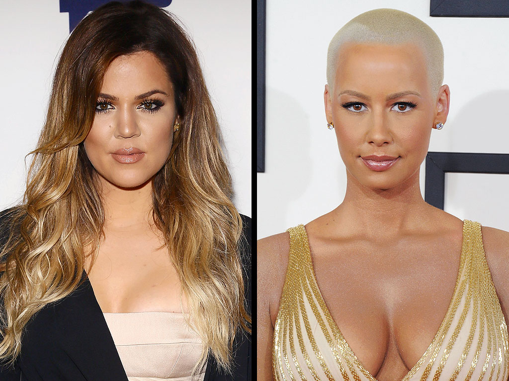 Khloe Kardashian and Amber Rose's Twitter Feud: All About Their Back-and-Forth