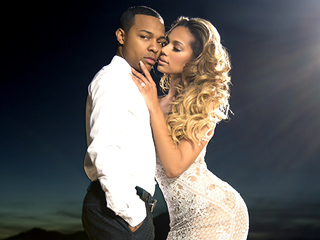Check Out CSI: Cyber's Shad 'Bow Wow' Moss and Erica Mena's Sexy Engagement Photos