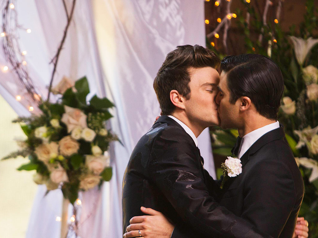 Glee Kurt Blaine Kiss: PaleyFest 2015: Our 5 Burning Questions About Glee