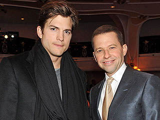 Ashton Kutcher Posts Touching Tribute to Two and a Half Men Costar Jon Cryer