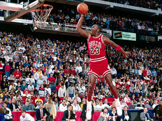 From SI: Sport's Illustrated 100 Best Michael Jordan Photos