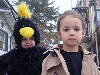 See 2 Adorable Sisters Recreate Scenes from Best Picture Oscar Nominees