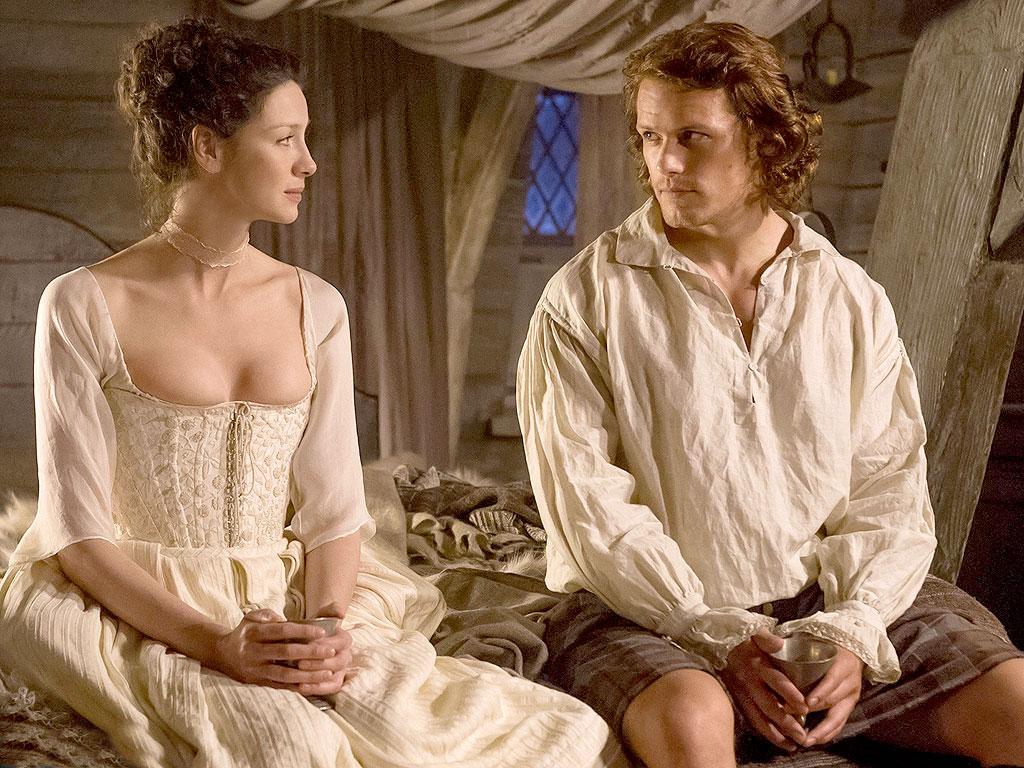 FIRST LOOK: Claire Marries Jamie on Outlander (PHOTOS)| Outlander, People Picks