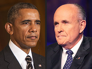 Rudy Giuliani Says President Obama Does Not 'Love America'