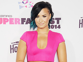 Demi Lovato Shares a Bikini Pic, Says You Don't Have to Have a Thigh Gap to Be Happy