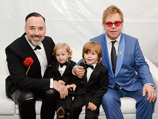 Elton John and David Furnish's Sons Watch 'Uncle Neil' Host the Oscars
