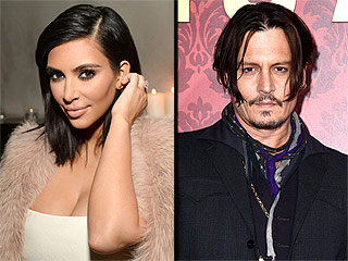 Kim Kardashian Confesses She Was 'Obsessed' With Johnny Depp