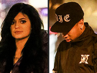 Kylie Jenner and Tyga Take in a Movie in Calabasas