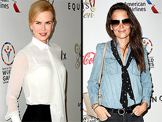 Nicole Kidman and Katie Holmes Step Out to Support the Special Olympics | Katie Holmes, Nicole Kidman