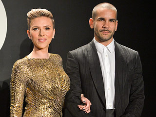 Scarlett Johansson and Romain Dauraic Enjoy a High Fashion Parents' Night Out