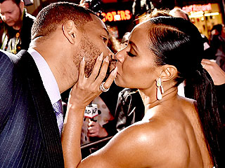 See Will and Jada Pinkett Smith Turn On the Flirt at Focus Premiere (PHOTOS)