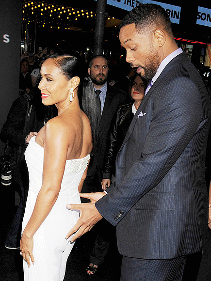 Will and Jada Pinkett Smith Turn On the Flirt at Focus ...