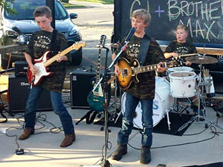 Heroes Among Us: North Carolina Brothers Rock to Raise Money for Veterans
