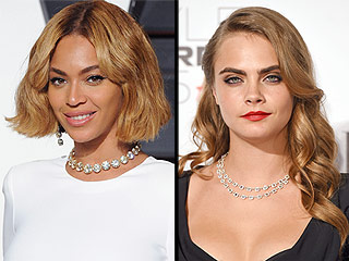 Are Beyoncé and Cara Delevingne Recording Music Together?