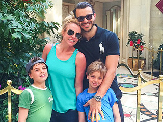 Britney Spears Has an Adorable Lunch Date with Her Little Boys