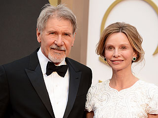 Calista Flockhart Visits Husband Harrison Ford in Hospital
