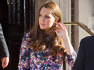 A Very Pregnant Princess Kate Attends The Goring Hotel's Reopening (PHOTO)