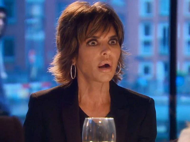 Real Housewives Of Beverly Hills: Lisa Rinna On Throwing