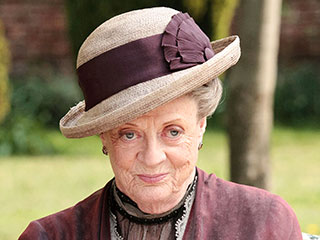 Maggie Smith May Not Be Leaving Downton Abbey | Maggie Smith
