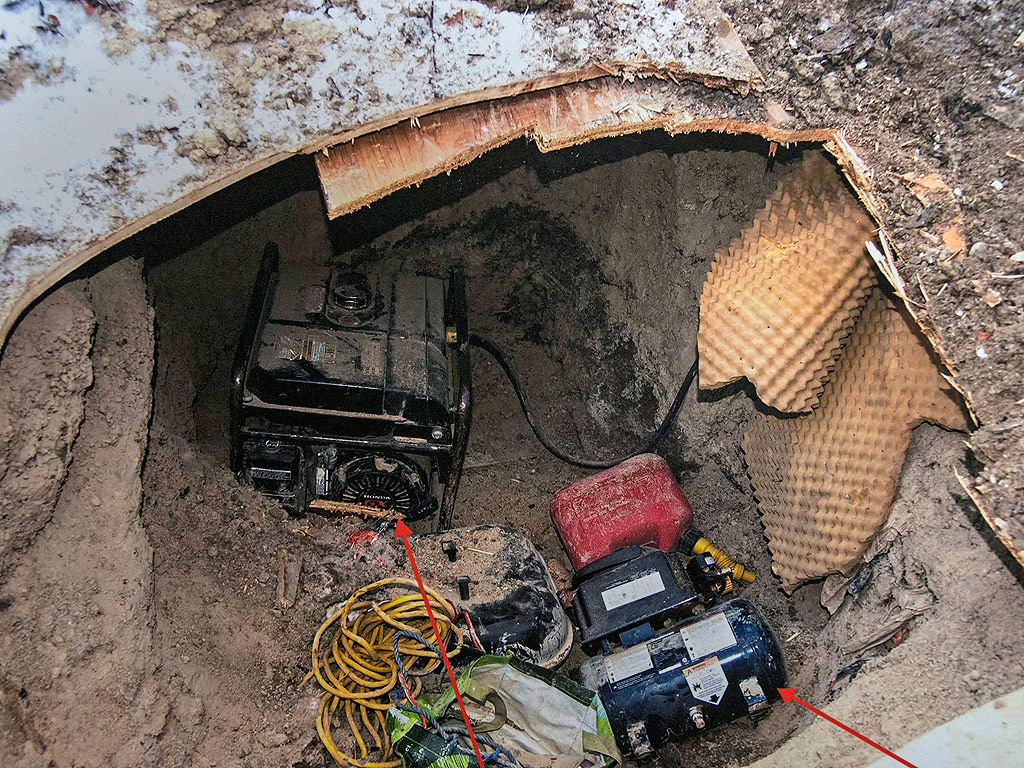 Backyard Underground Man Cave :  Fears ? but Its Just a Man Cave Two Guys Built Real People Stories