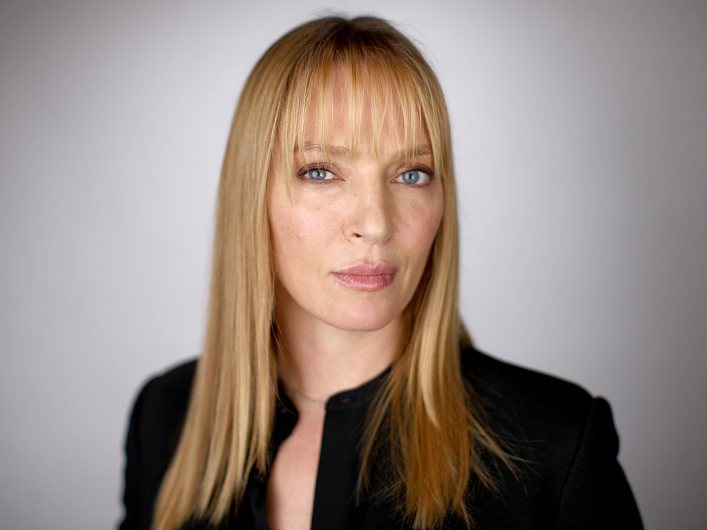 Uma Thurman Trying to Learn Swedish : People.com