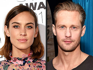 Alexander Skarsgard and Alexa Chung Heat Up in Paris (PHOTO)