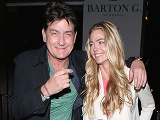 Denise Richards Slams Charlie Sheen's Rep on Twitter as Source Says the Actor Hasn't Seen His Daughters in Months