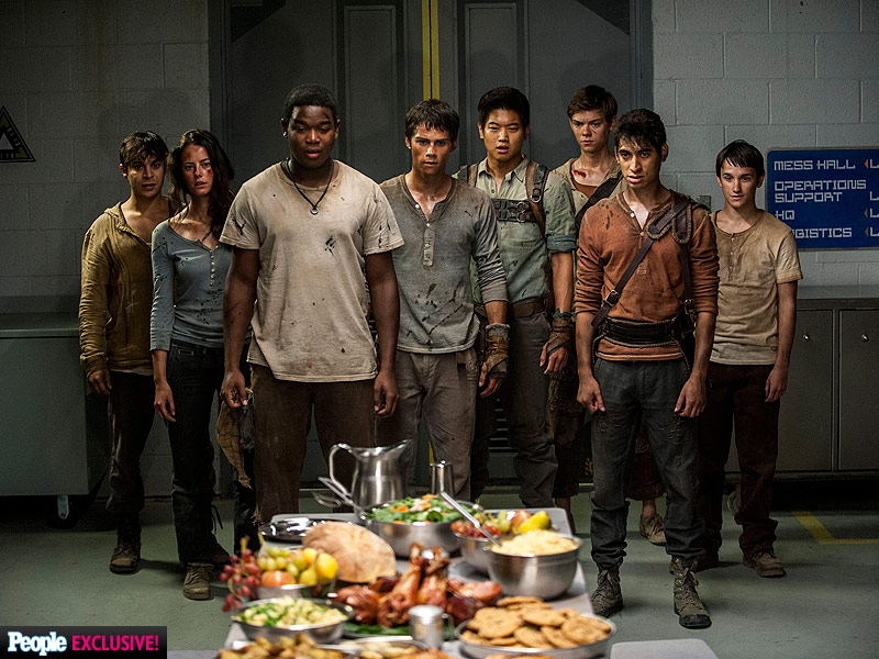 FIRST PHOTOS! See the New Battles (and New Women) of The Maze Runner: The Scorch Trials| The Maze Runner, Dylan O'Brien