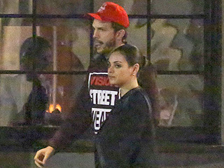 Mila Kunis and Ashton Kutcher Enjoy a Low-Key Date Night