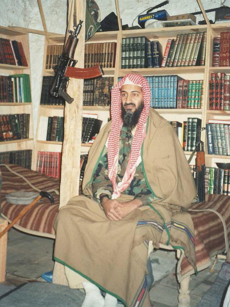 Rare Photos Show Osama bin Laden at His Tora Bora Compound