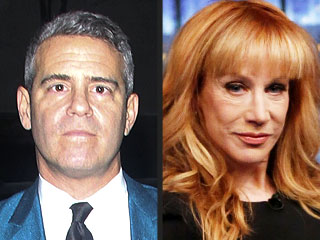 Andy Cohen Questions Kathy Griffin's Reason for Leaving Fashion Police
