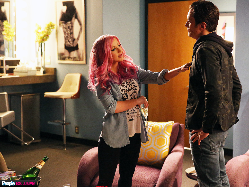 Christina aguilera on nashville get an exclusive first look people