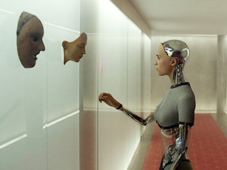 The Robotic Star of Ex Machina Is Messing with Men on Tinder at SXSW
