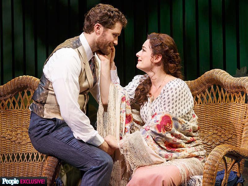 Matthew Morrison and Kelsey Grammer in Broadway's Finding ...