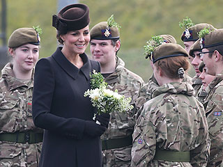 Princess Kate Marks St. Patrick's Day at Parade with Prince William