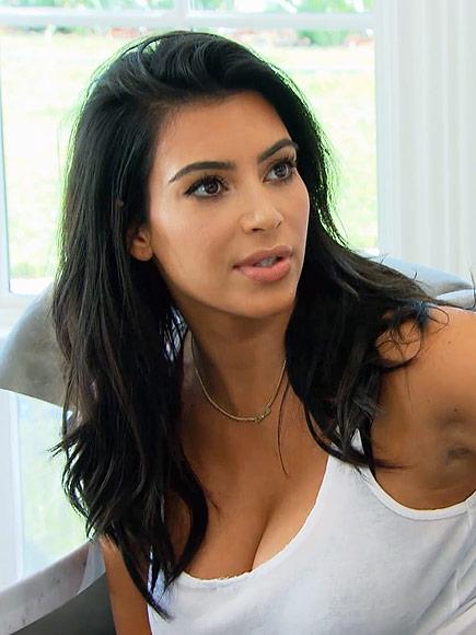 Kim Kardashian on Keeping Up Kim Kardashian