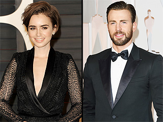 Are Lily Collins and Chris Evans Dating?