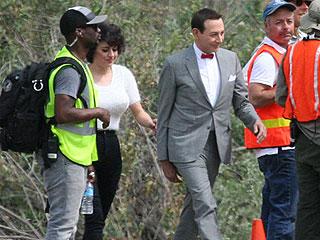 Pee-wee Herman Returns! See Paul Reubens Shoot the New Film (PHOTO) | Paul Reubens