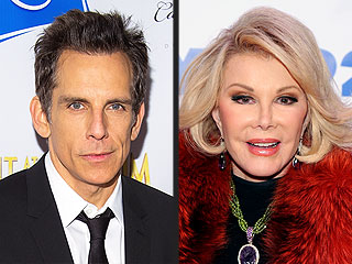 Ben Stiller Finally Learns Why Joan Rivers Held a Grudge Against Him
