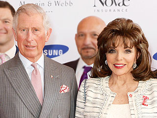 Joan Collins Is Made a Dame at the Palace