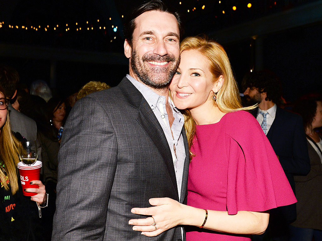 Jon Hamm and Jennifer Westfeldt Deny Split Rumors