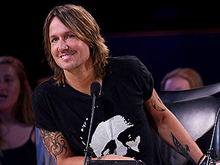Is That a Mullet? See Keith Urban's Old-School Photo for American Idol '80s Night!