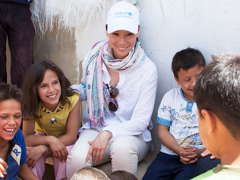 Lucy Liu Is on a Mission to Help Children Worldwide| Why I Care, Lucy Liu